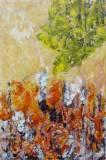 acrylic on canvas (910x610mm)