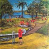 Acrylic on canvas (761x761mm)