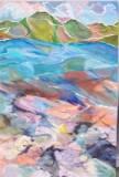 acrylic on canvas (915 x 610 mm)