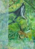 Acrylic on canvas (915 x 600 mm)