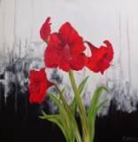 Acrylic on canvas (760 x 760 mm)