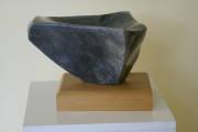 Takaka marble, rimu base (290 x 300 x 240 mm)